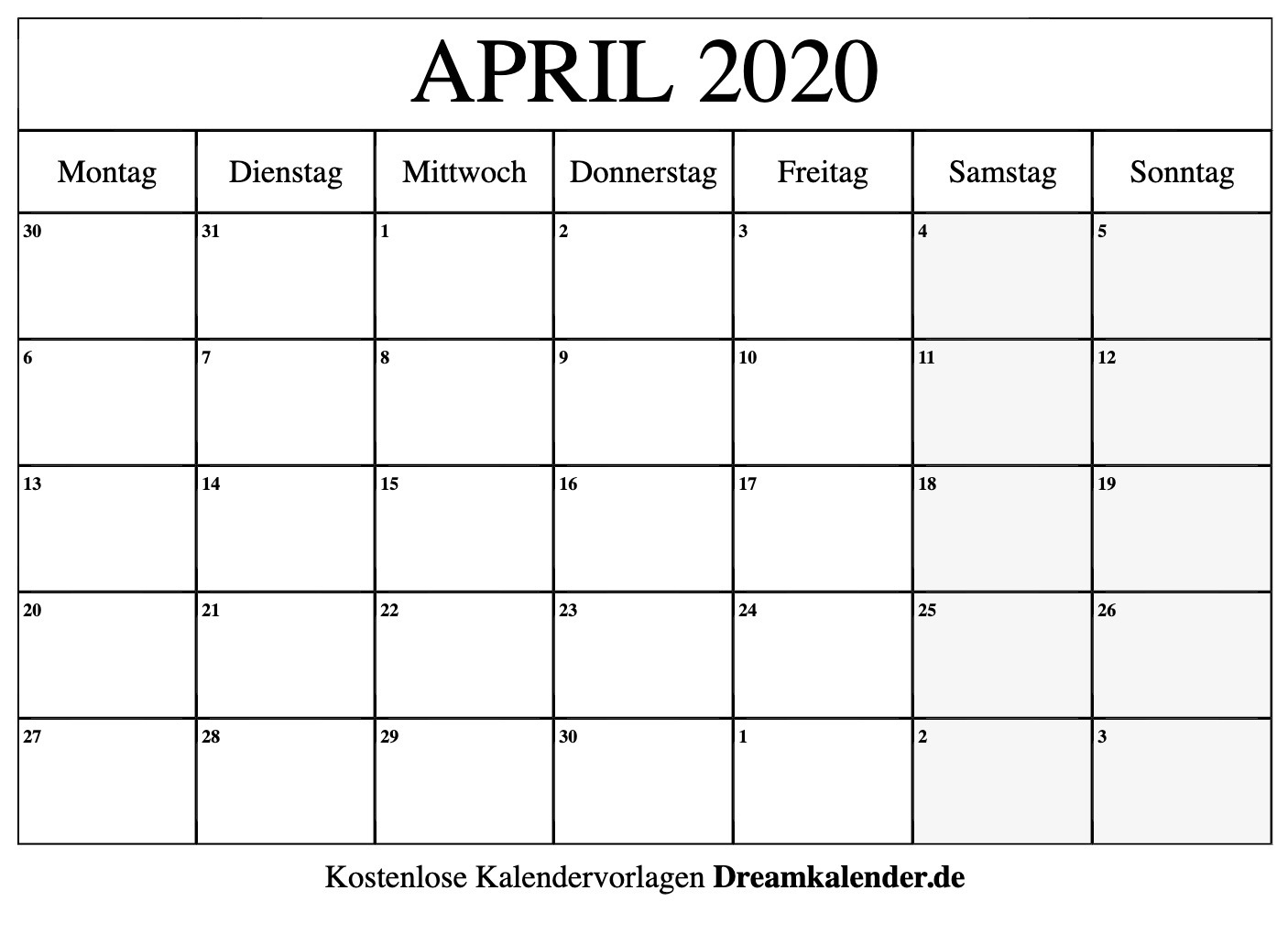 kalender zum ausdrucken monat