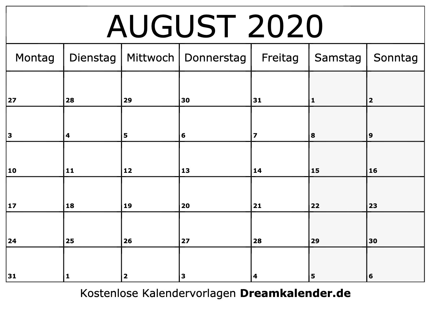kalenderblatt juli 2020 zum ausdrucken